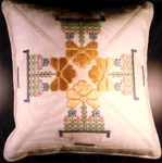 Ann's Queen Pillow (Needlepoint)