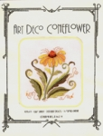 Art Deco Coneflower