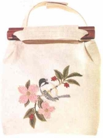 Black-Capped Chickadee Shoulder Bag