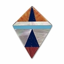 Blacklip Inlay Kite