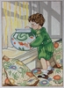 Boy with Goldfish Bowl