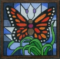 Butterfly Stain Glass w/ Bag