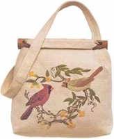Cardinals And Jasmine Shoulder Bag