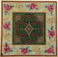 Celtic Floral Square