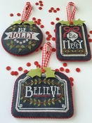 Chalkboard Ornaments - Part 1