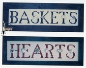 Charmed Sampler Hearts, Baskets