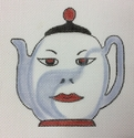 China Man Teapot