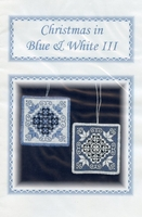 Christmas in Blue & White III