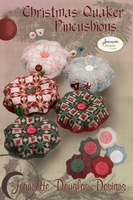 Christmas Quaker Pincushions