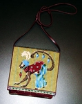 Circus Monkey Purse by Melissa Shirley Designs