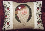 Enchanted Santa Pillow