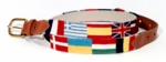 European Flag Belt