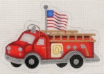 Fire Engine w/ Flag