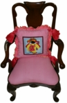 Fish Girl Chairback