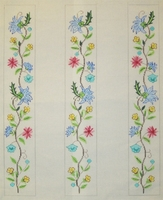Floral Luggage Straps