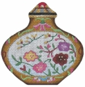 Floral Snuff Bottle