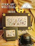 Folk Art Welcome #161