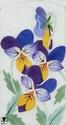 Forget-Me-Nots, Freesia, Hydrangea, Johnny Jump-ups, Sweetpeas, Viola & Violets