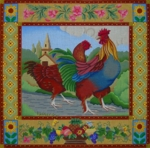 French Country Rooster & Hen