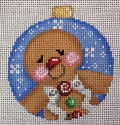 Gingerbread Boy w/ Dots