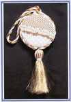 Gold Filigree Orb (White)