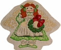 Green Angel w/Wreath