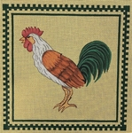 Green-tailed Rooster