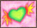 Green Winged Heart