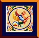 Griffin Dragon Tile