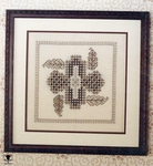 Hardanger - Blackwork Flower