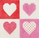 Hearts On 10 Mesh