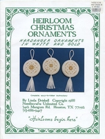 Heirloom Christmas Ornaments
