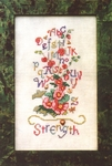 Hollyhock Sampler Strength