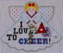 I Love To Cheer Angel