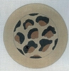 Leopard Skin Button