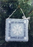 Let It Snow - Ornament of the Month