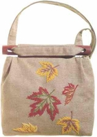 Maple Leaves Shoulder Bag