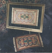 Miniature Persian Rug