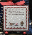 Mistletoe Sleigh Ride Ornament