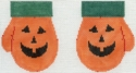 October Pumpkin Mittens