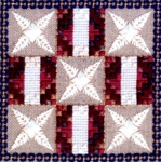 Old Glory Patchwork Quilt