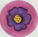Pansy Button