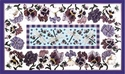 Pansy Rug w/ Dragonflies