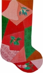 Patchwork Stocking - Bell