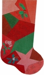 Patchwork Stocking - Star