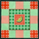 American Lime Quilt Square