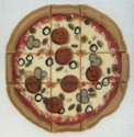Pizza Tic Tac Toe & Pieces