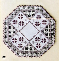 Plum Fun Doily