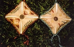 Pointedly Stitched Ornaments I