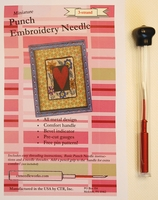 Punch Embroidery Needle, 3-Strand